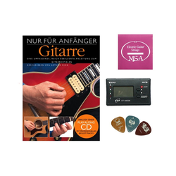Stimmgerät Starterset für E-Gitarre, (Set)