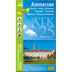 Ammersee 1 : 25 000