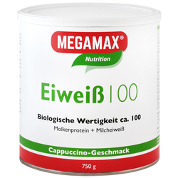 Megamax Eiweiss 100 Cappuccino Pulver