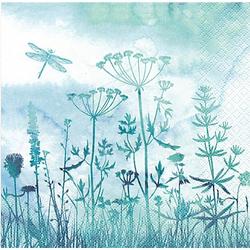 """Papierservietten """"Gräser"""", 33 x 33 cm, 20 Stück"""