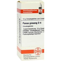 PANAX GINSENG D 4 Globuli