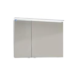 Marlin Spiegelschrank 3160 in weiß Glanz