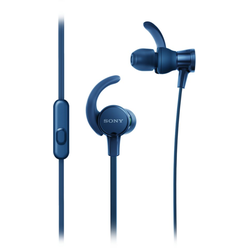 Sony Headset In-Ear-Sportkopfhörer MDR-XB510AS blau
