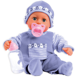 Bayer Babypuppe Babypuppe First words baby, lila, 38 cm