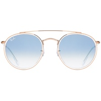 RB3647N transparent bronze-copper / light blue gradient
