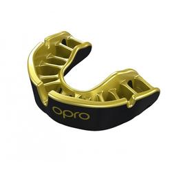 OPRO Zahnschutz Gold Senior black/pearl