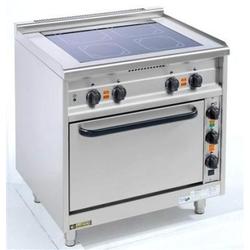 EKU Thermik 650 Elektroherd mit Ceranfeld 4 Kochzonen und Elektrobackofen