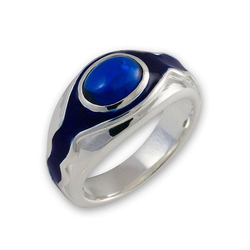 Der Herr der Ringe Fingerring Vilya - Elronds Ring, 10004023, Made in Germany 64