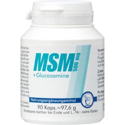 MSM 500mg + Glucosamine