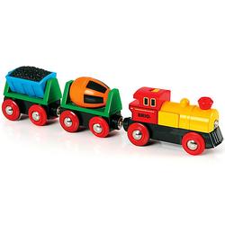 Zug mit Lok und Anhängern (Batteriebetrieb)