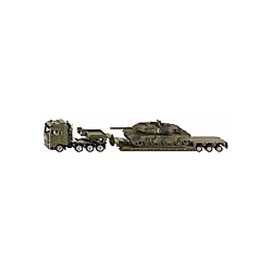SIKU 1872 Tieflader mit Panzer 1:87