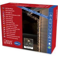 Konstsmide 3648-110 Micro-Lichterkette Außen netzbetrieben Anzahl Leuchtmittel 1000 LED Warmweiß B