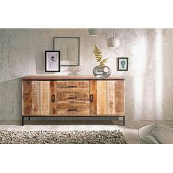 SAM® Sideboard Arta, Mangoholz massiv & lackiert charismatisches und edles Naturholz