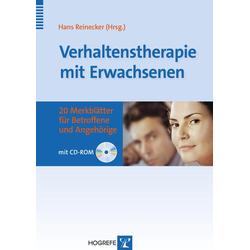 Verhaltenstherapie mit Erwachsenen: eBook von Hans Reinecker