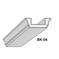 BK-04 Deckenbalken aus Styropor Balkenverkleidung Verkleidung Kassettendecken Balken 300cm