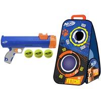 Nerf Dog Tennisball Blaster mit Zielscheibe