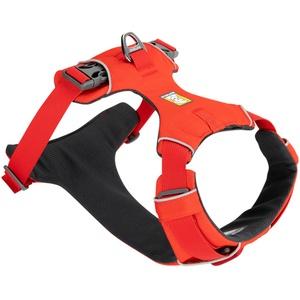 Ruffwear Hundegeschirr Front Range™ Harness rot, Breite: ca. 2,5 cm, Brustumfang: ca. 81 - 107 cm