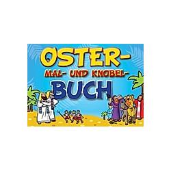 Oster-Mal- und Knobel-Buch - Buch