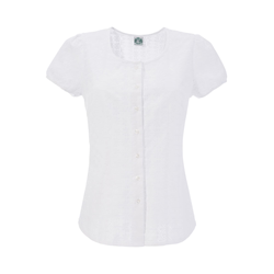 HAMMERSCHMID Damen Trachtenbluse weiß, Größe 34, 4572994