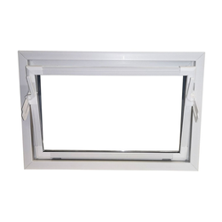 ACO Severin Ahlmann GmbH & Co. KG Kellerfenster ACO 80cm Nebenraumfenster Kippfenster Isoglasfenster Fenster weiß Kellerfenster, wärmeisolierende Kunststoff-Hohlkammerprofile 80 cm x 40 cm