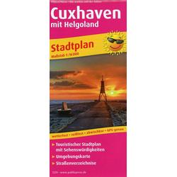 Cuxhaven mit Helgoland 1:16 000
