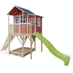 Spielhaus Loft 750 Rot (FSC 100%) rot