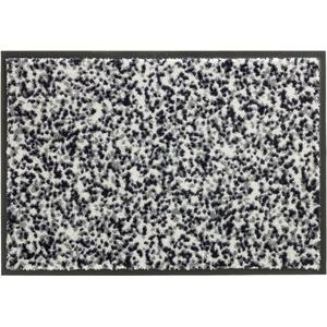 Schöner Wohnen Fußmatte Miami Design 004, Farbe 004 Mezzopoint silber Wunschmaß