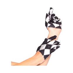 Leg Avenue Halb-Handschuhe 'Harlequin'