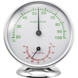 Renkforce Thermo-/Hygrometer 6510 Alu Funkwetterstation