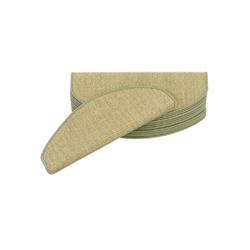 Stufenmatte Natur Sisal Stufenmatten 15er-Set, Pergamon, Halbrund, Höhe 6 mm 18 cm x 56 cm x 6 mm