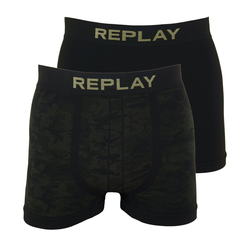 Replay Boxershorts Seamless Cuff Logo im 2er Pack L