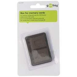 Aufbewahrungsbox für bis zu 4x SD Speicherkarten