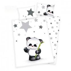 babybest® Bettwäsche Kleiner Panda 100 x 135 cm