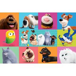 Trefl Puzzle Puzzle 100 Teile - Secret Life of Pets, Puzzleteile