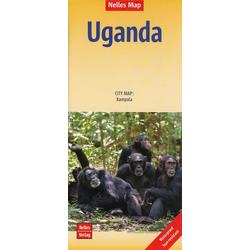 Nelles Map Uganda 1:700 000