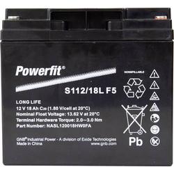 GNB Powerfit Powerfit S112/18L F5 S112/18LF5 Bleiakku 12V 18Ah Blei-Vlies (AGM) (B x H x T) 181.5 x