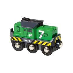 BRIO® Spielzeug-Eisenbahn Batterie-Frachtlok