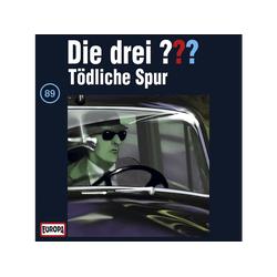 Die drei ??? 89: Tödliche Spur - (CD)