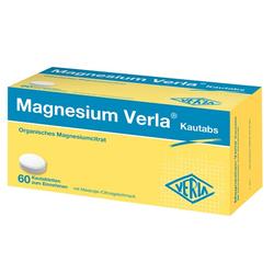 MAGNESIUM VERLA Kautabs 60 St