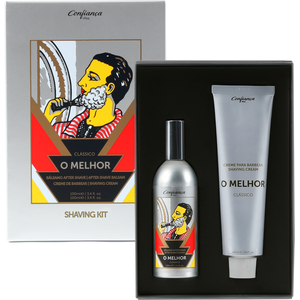 RASIERSET O MELHOR Rasiercreme & After Shave Balsam je 100 ml CONFIANCA Portugal
