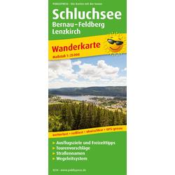 Schluchsee Bernau - Feldberg - Lenzkirch 1:25 000