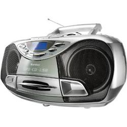 Karcher RR510N tragbares Stereo-CD-Radio - silber
