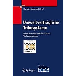 Umweltverträgliche Tribosysteme - Buch