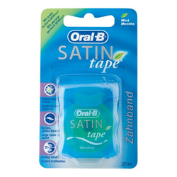 ORAL B Zahnseide SATINtape blau Blisterkarte 1 St