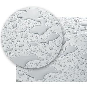 Transparente Tischdecke Klarsicht Folie, rund oval eckig - Stärke 0,30 mm - Größe wählbar (Eckig 180 x 140 cm)