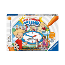 Ravensburger Lernspielzeug tiptoi® Wir lernen die Uhr (ohne Stift)