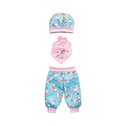 Heless Puppenkleidung Puppenbaby-Outfit Einhorn Emil & Fee Emma,