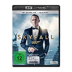 James Bond - Skyfall (4K Ultra HD) - DVD  Filme