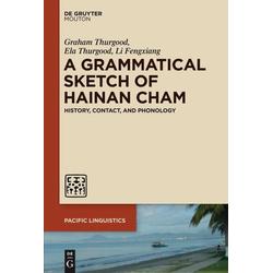 A Grammatical Sketch of Hainan Cham als Buch von Ela Thurgood/ Li Fengxiang