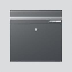 Siedle BKM 611-4/4-0 DG Briefkasten-Modul mit Einwurfklappe (200038873-00)